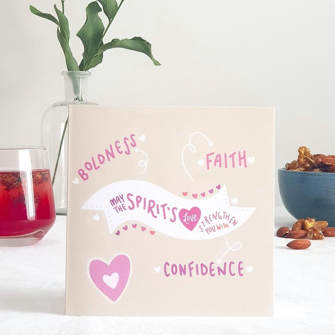 Spirit's Love Greeting Card    Trada Marketplace