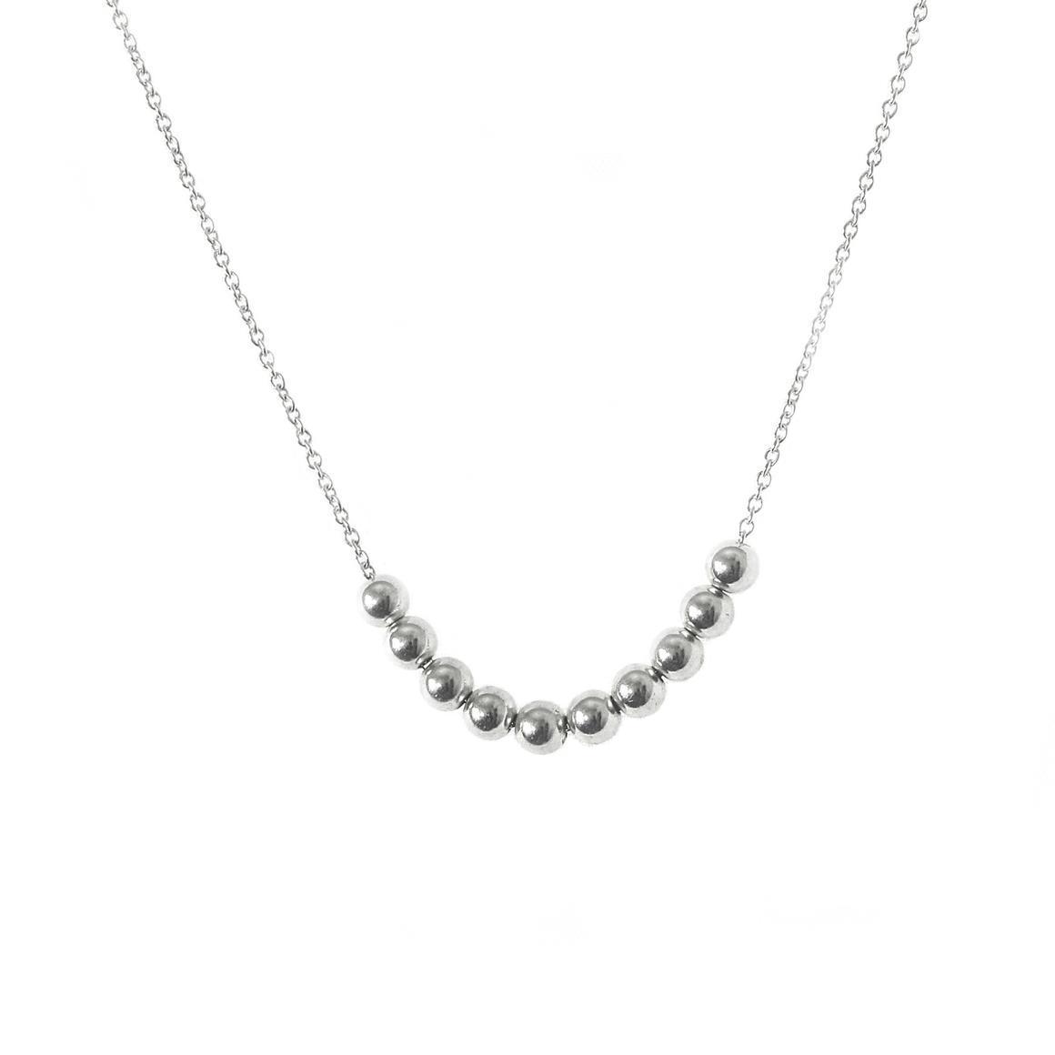 Extra Small 10 Ball Necklace | Trada Marketplace