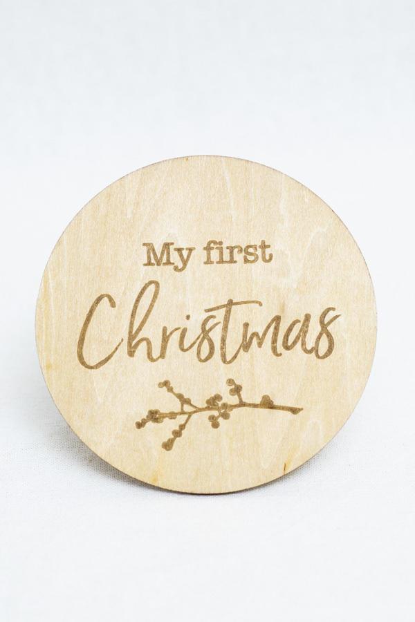 Christmas Milestone Disc   Trada Marketplace