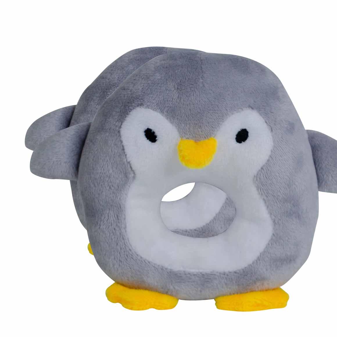 BibiBaby Cuddle Rattle - Percy Penquin   Trada Marketplace