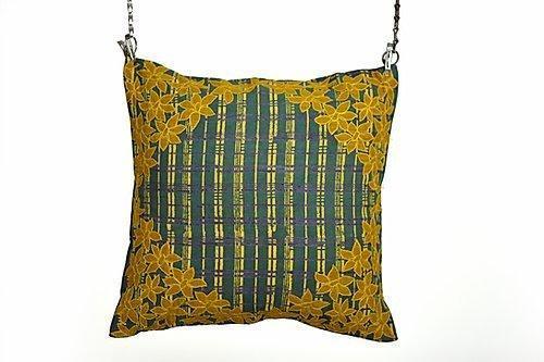 Dhari Patti Applique Cushion | Trada Marketplace