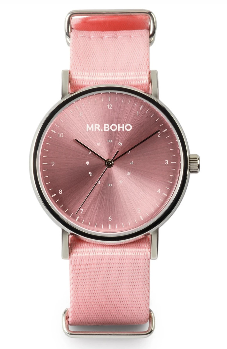 Metallic Cadet Casual Pink Lady Iron Watch   Trada Marketplace