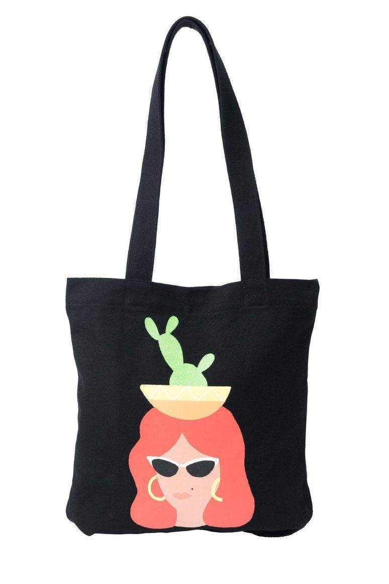 Cactus Queen Tote Bag | Trada Marketplace