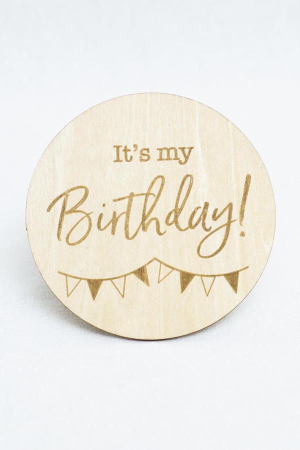 Birthday Milestone Disc   Trada Marketplace