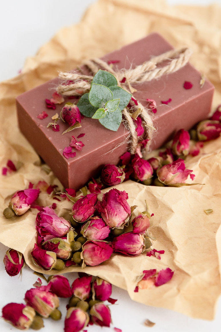 Sandalwood, Rose & Red Clay Natural Handmade Soap | Trada Marketplace