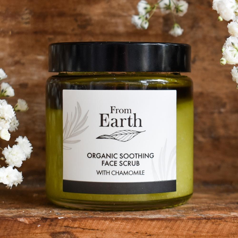 Organic Soothing Face Scrub   Trada Marketplace