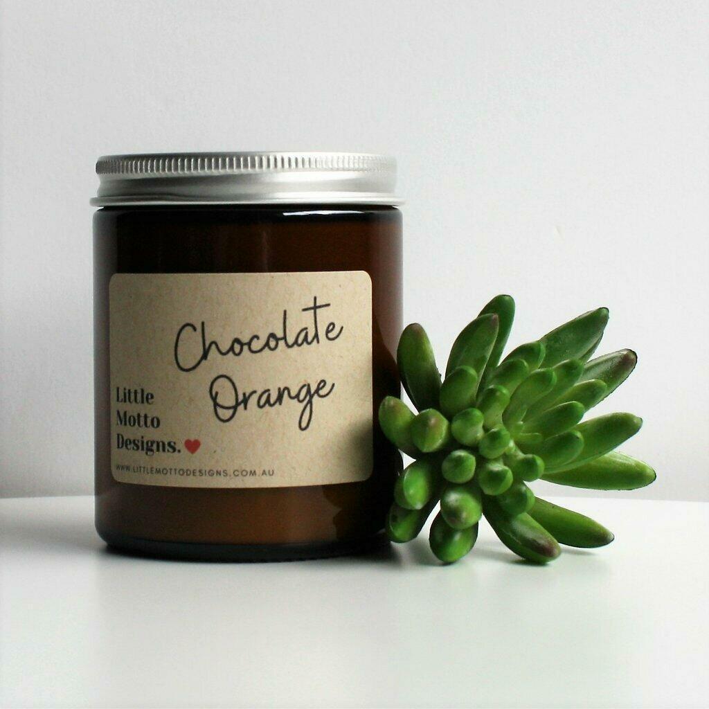 Boxed Amber Candle Jar - Chocolate Orange | Trada Marketplace