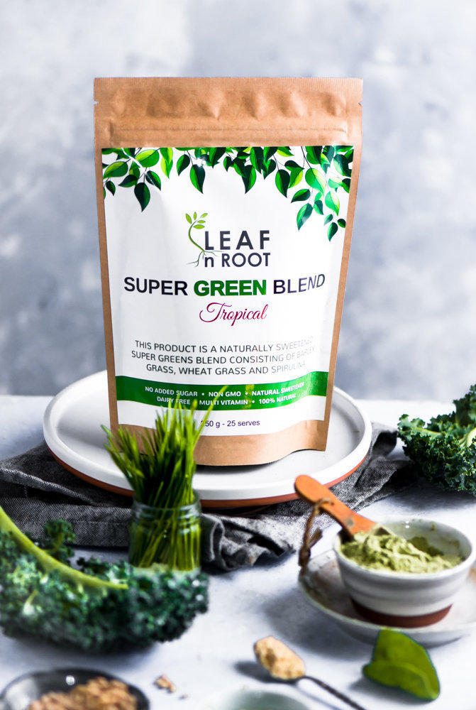 Premium SuperFood Greens - Tropical | Trada Marketplace