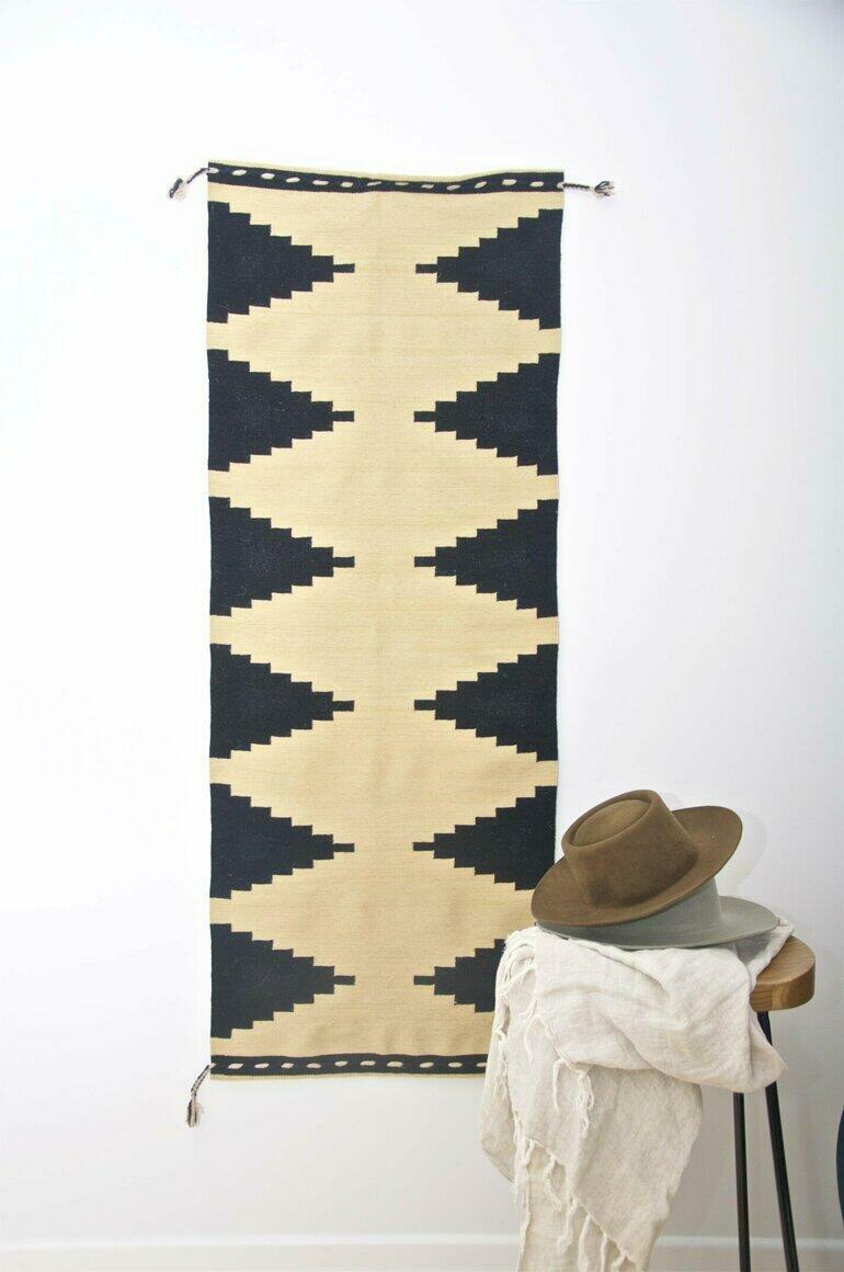 WALL HANGING TAPESTRY - Cuzco landscapes (handloom, natural dyes) | Trada Marketplace