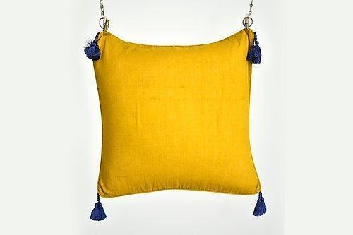 Khadi Tassel Cushion | Trada Marketplace