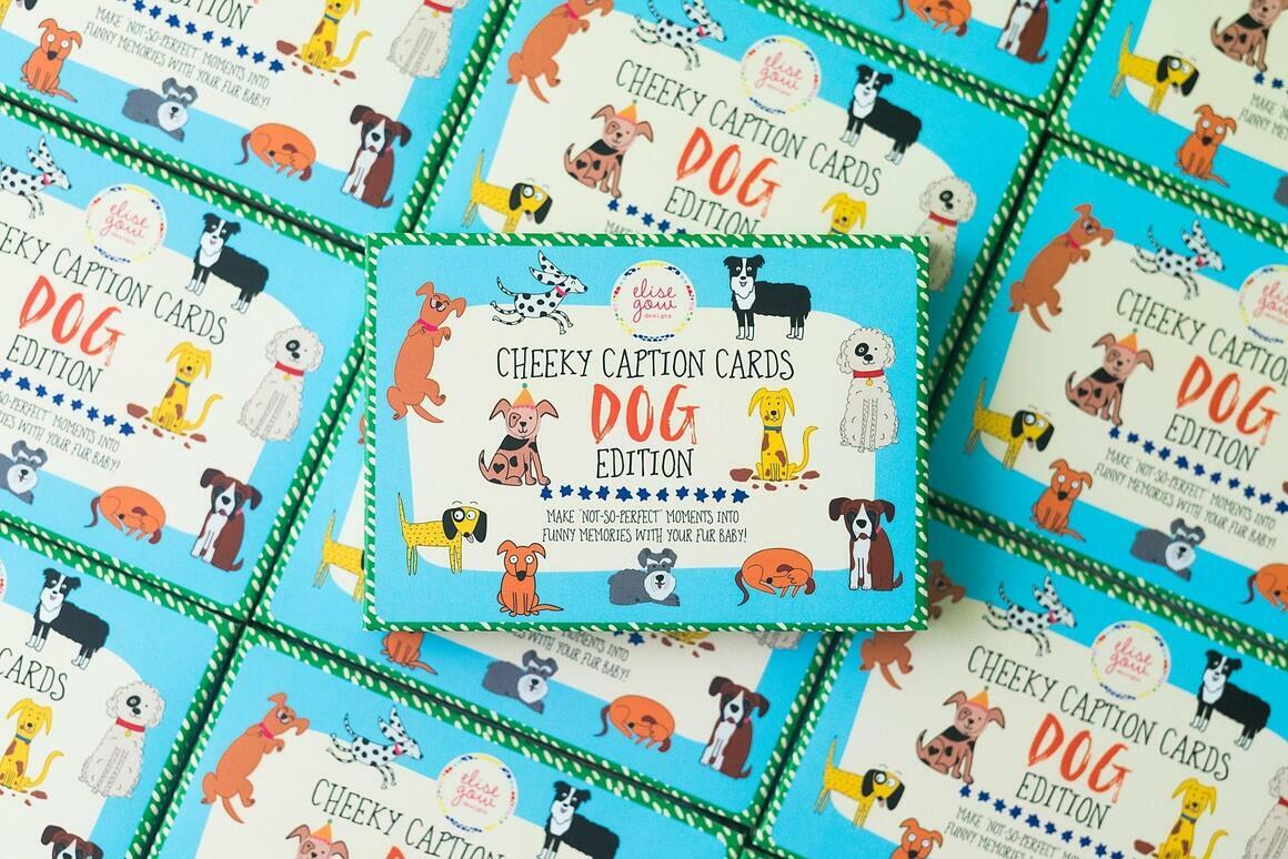 Cheeky Caption Cards - Dog Edition | Trada Marketplace