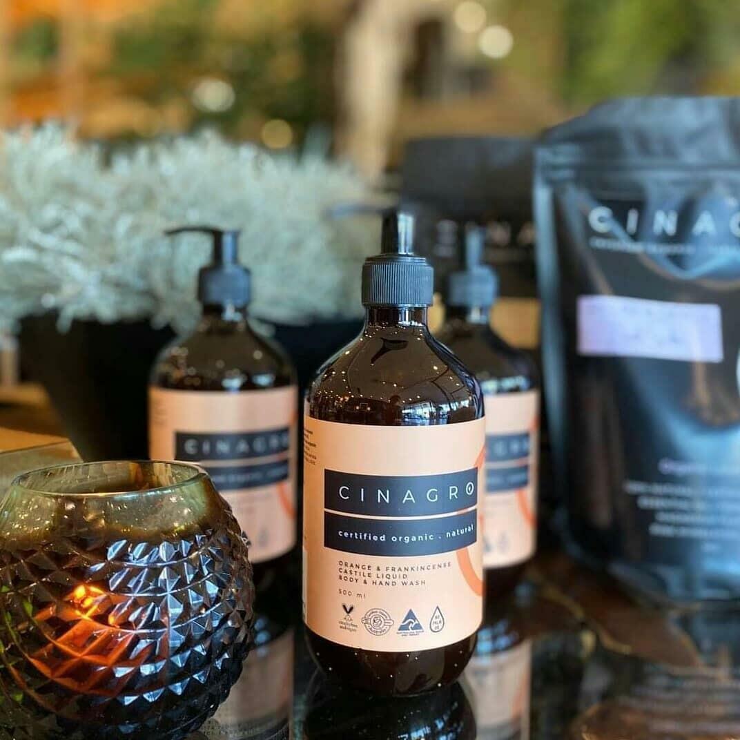 Certified Organic Orange & Frankincense Liquid Castile Body & Hand Wash | Trada Marketplace