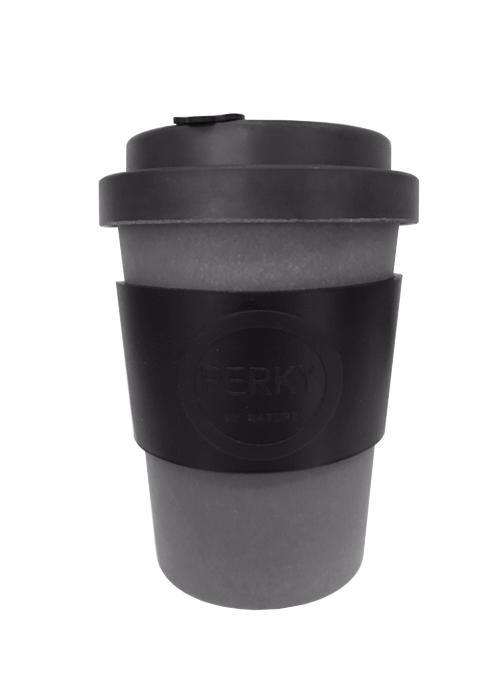 Perk Black Cup 12oz | Trada Marketplace