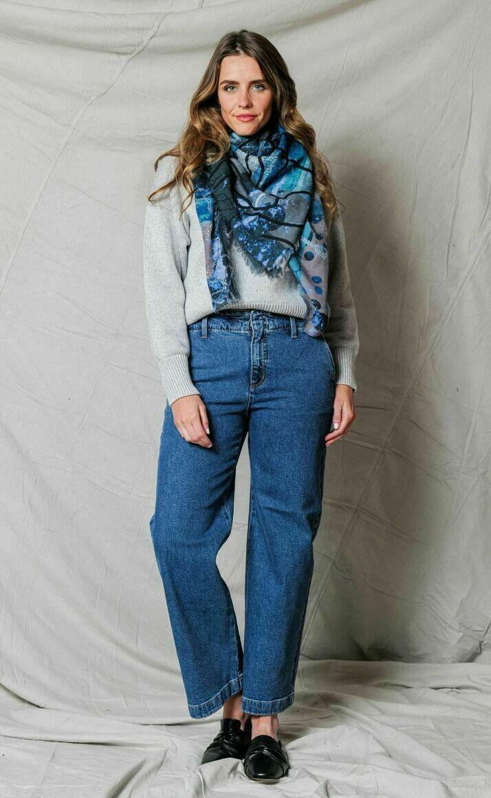 Merino wool scarf | TEMPEST | Trada Marketplace