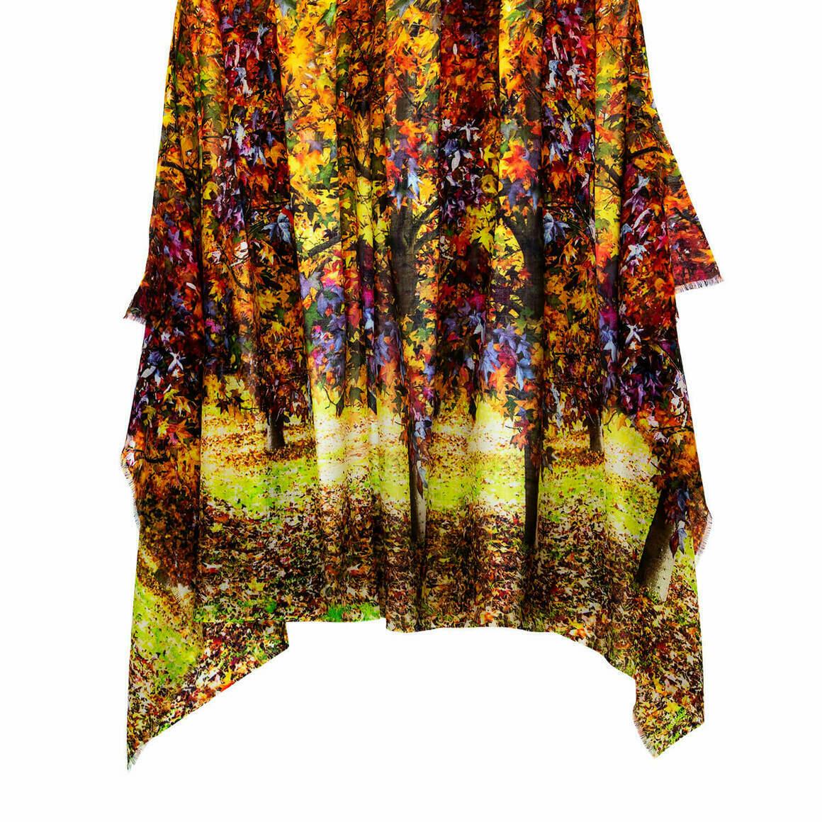 Autumn Australian Merino Wool & Cashmere Scarf   Trada Marketplace