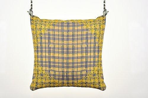 Dhari Phool Embroidery Cushion | Trada Marketplace
