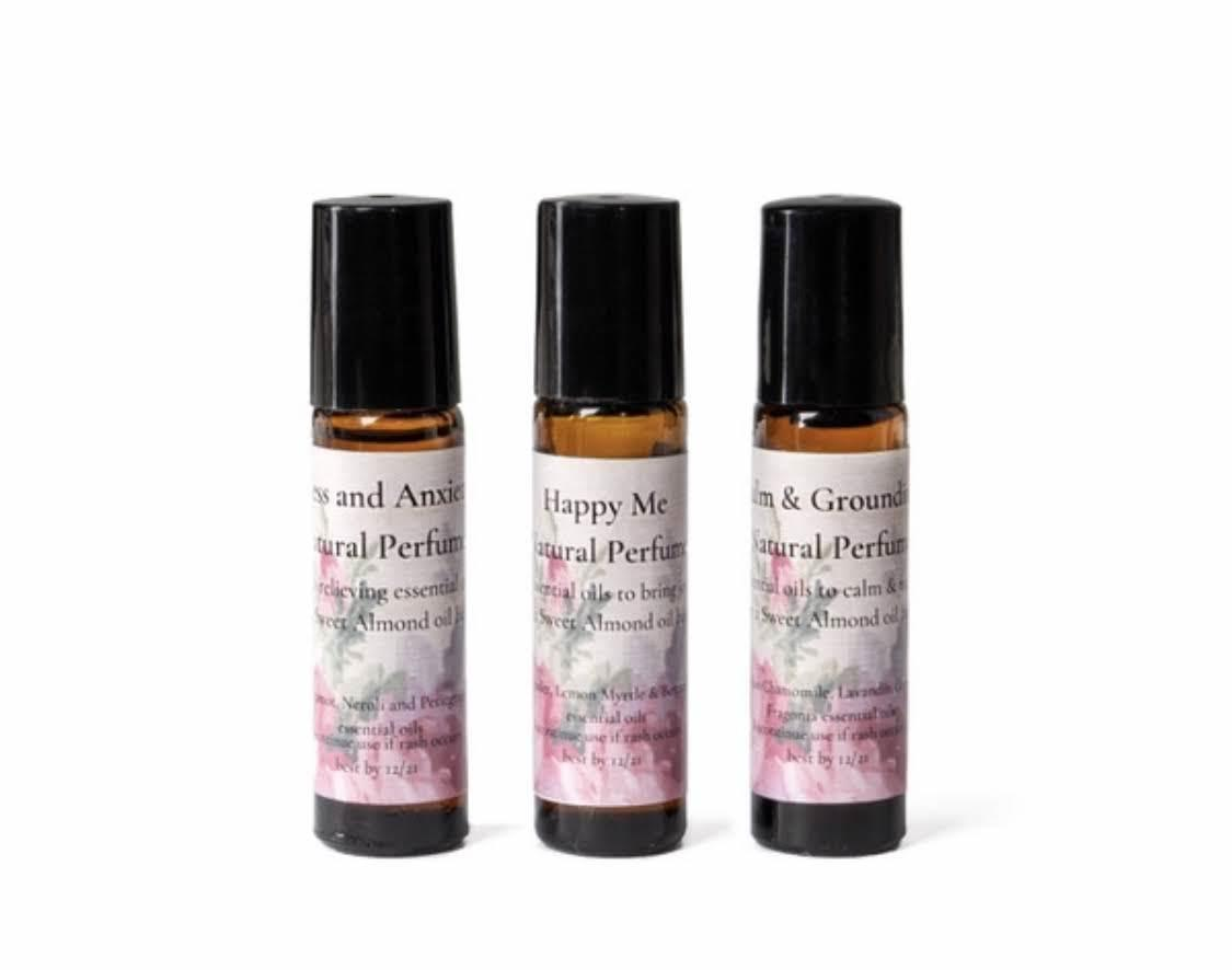 Natural Perfume Trio   Trada Marketplace