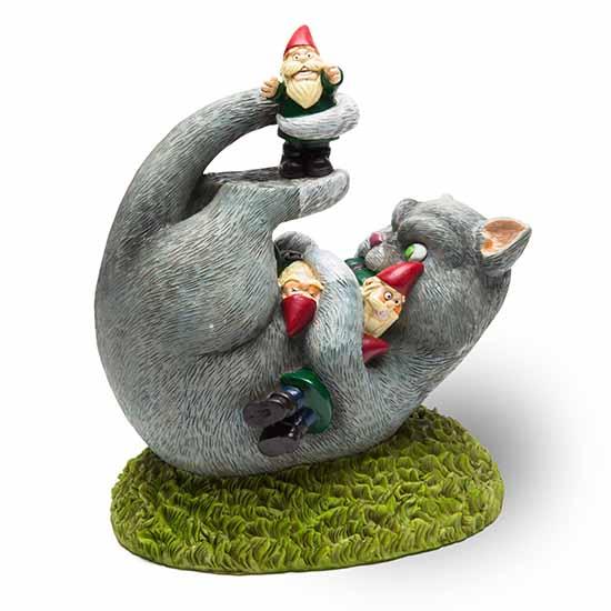 BigMouth Cat Gnome Massacre Garden Gnome   Trada Marketplace