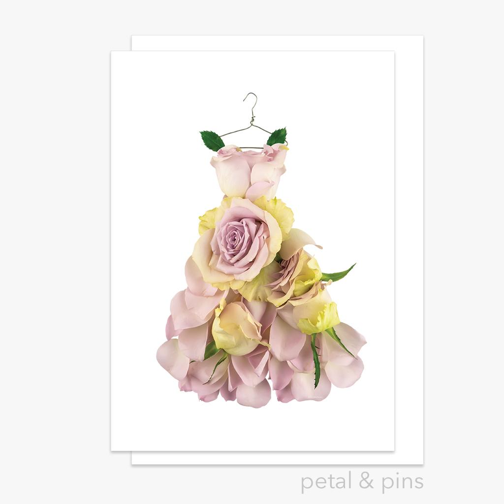 rosa dress greeting card | Trada Marketplace