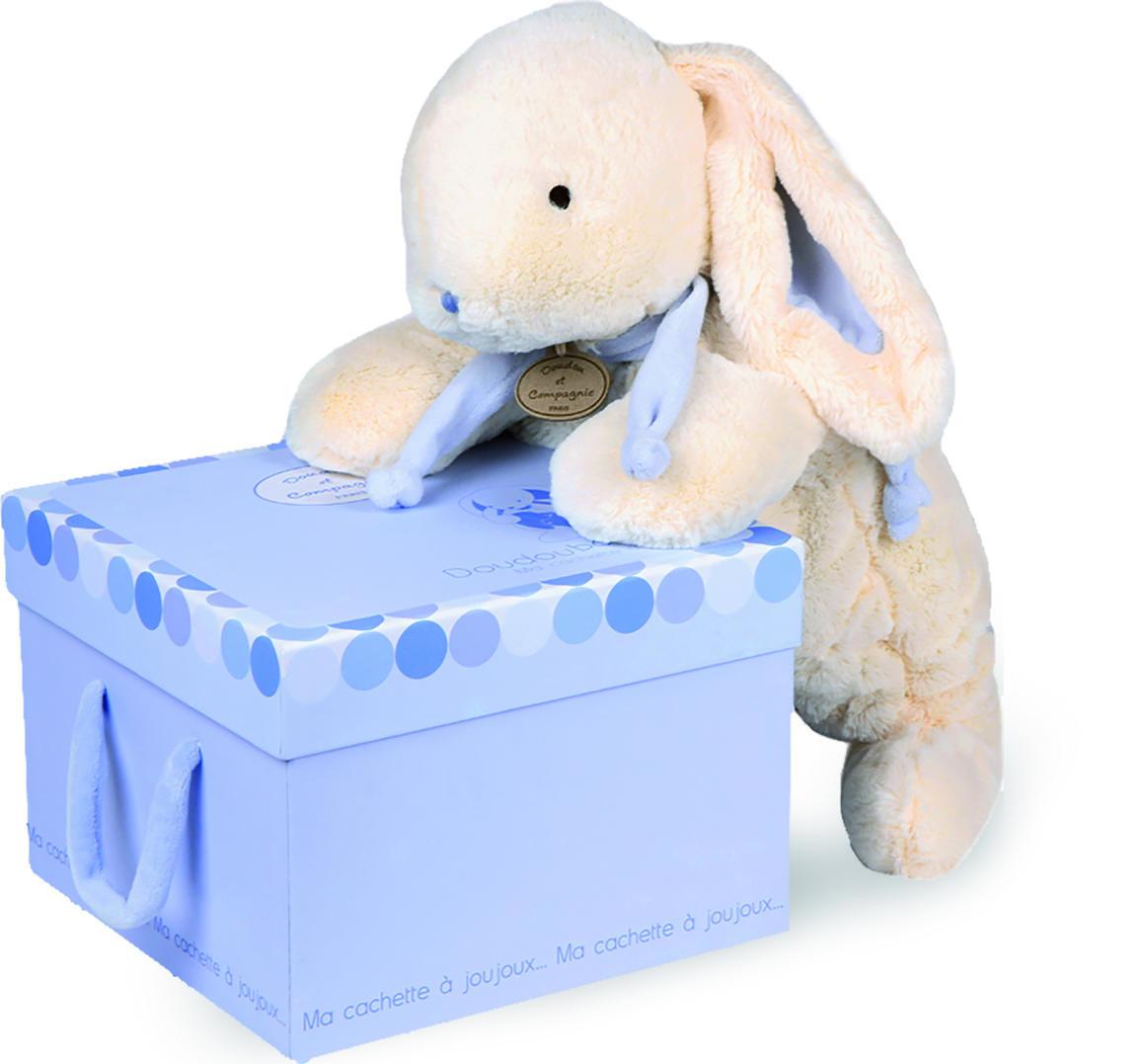 extra large blue rabbit + gift box 75cm   Trada Marketplace