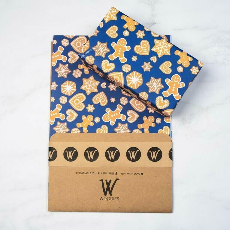 Cookies - Recycled Wrapping Paper | Trada Marketplace