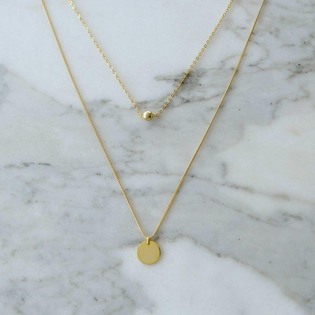 Artemis Necklace (Gold) | Trada Marketplace