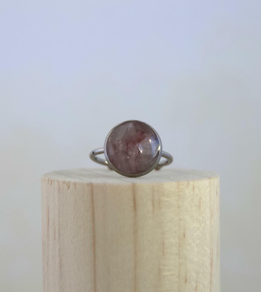 Rose Quartz Ring  | Trada Marketplace