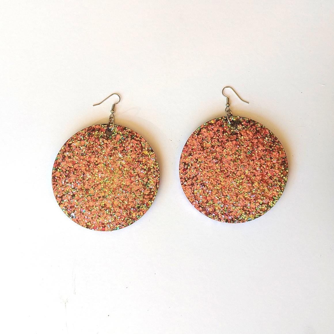 Glitter freckles Large 8cm   Trada Marketplace