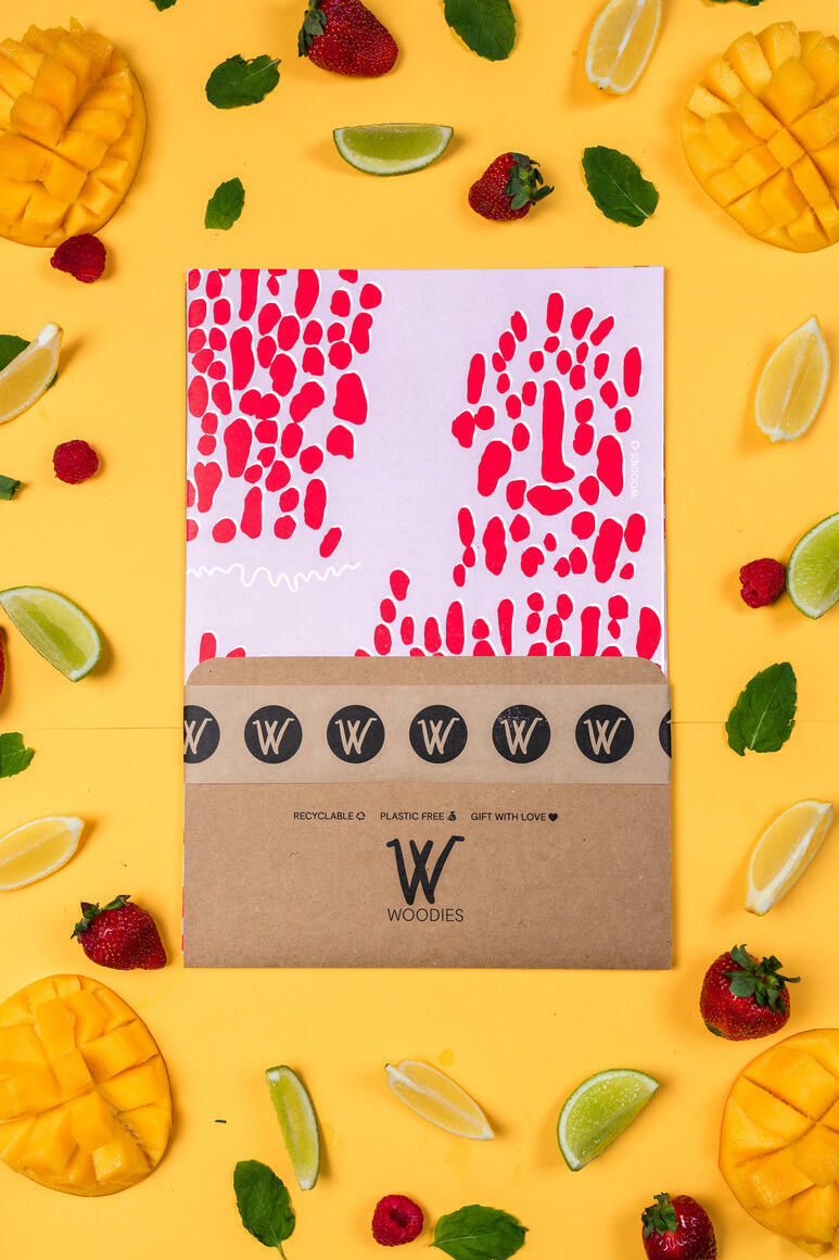 Lulu Lobster - Recycled Wrapping Paper | Trada Marketplace