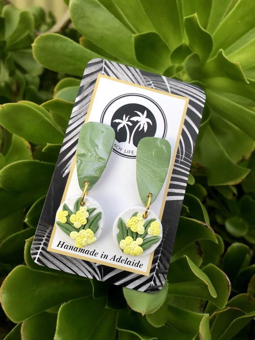 Mixed Botanical Earrings/Dangle | Trada Marketplace