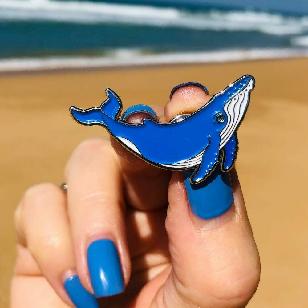 PIN Humpback Whale | Trada Marketplace