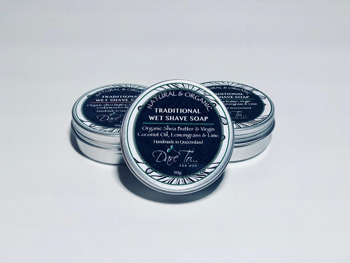 TRADITIONAL WET SHAVE SOAP | Trada Marketplace