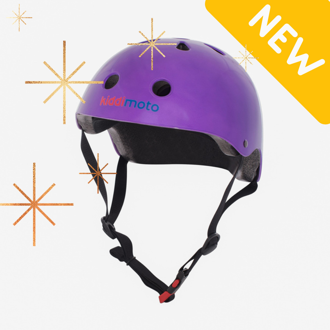 Metallic Tutti Frutti Purple Helmet | Trada Marketplace