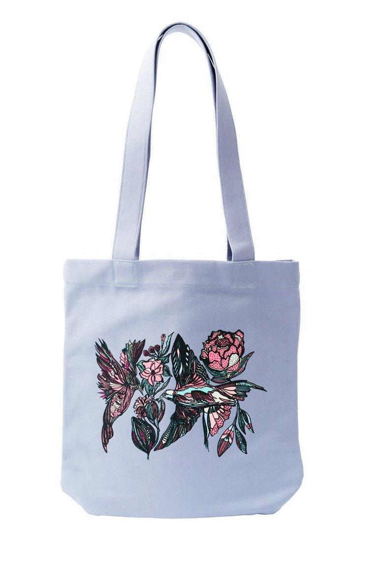 Birds & Flowers Tote Bag | Trada Marketplace