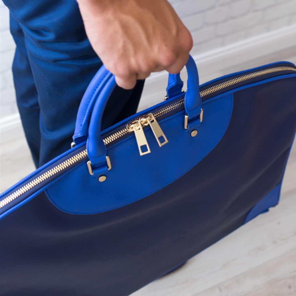 Garment Bag Navy | Trada Marketplace