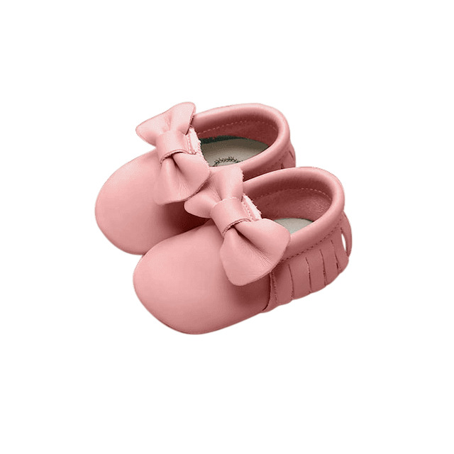Moccasin - Bow - Pink | Trada Marketplace