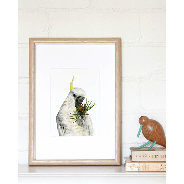 Cockatoo Mini Print | Trada Marketplace