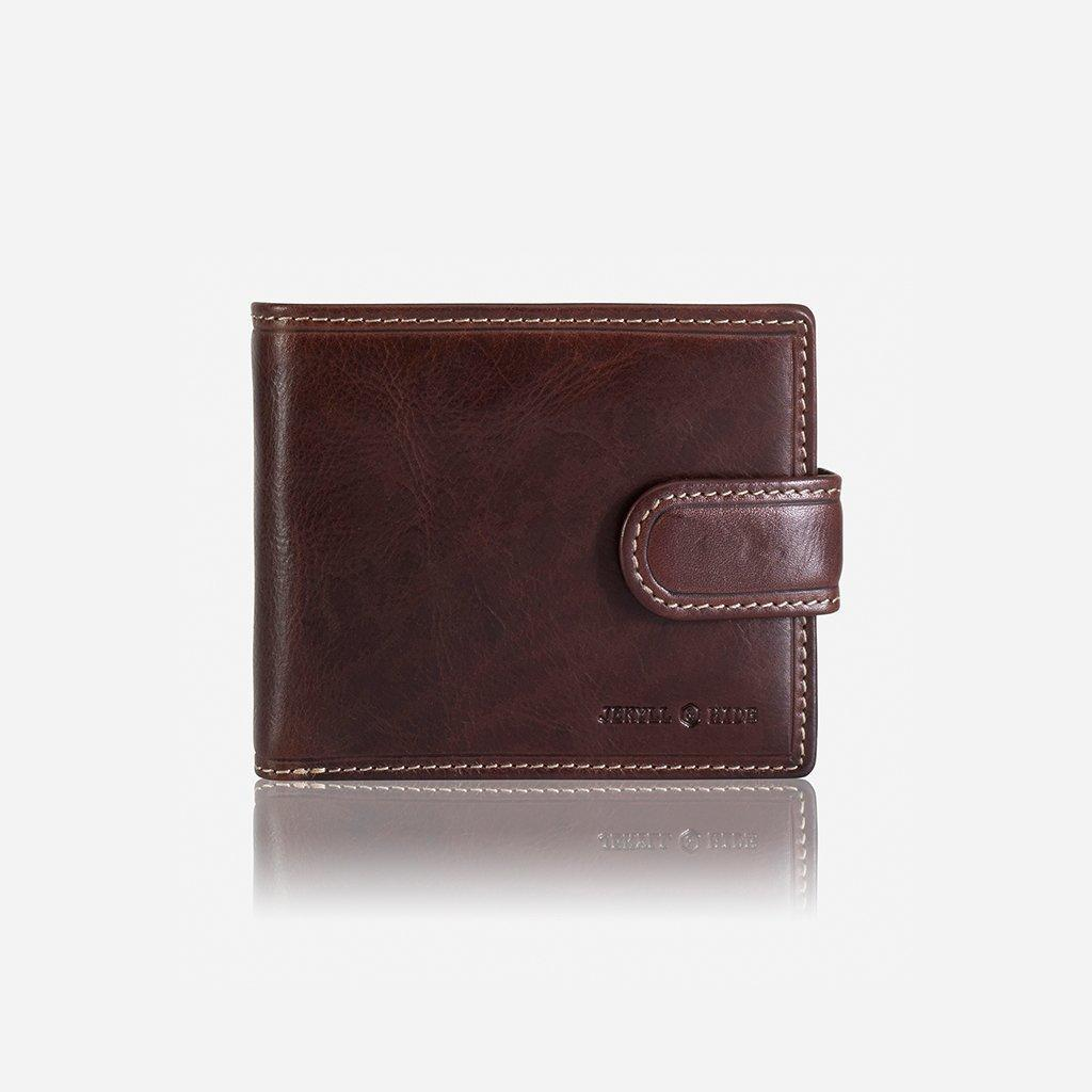 Billfold Wallet With Coin And ID Window COFFEE | Trada Marketplace