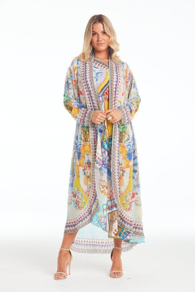 Love in Santorini Long Jacket | Trada Marketplace
