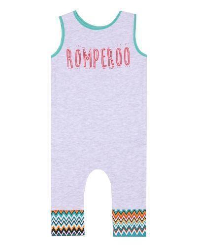 romperoo green cotton romper | Trada Marketplace