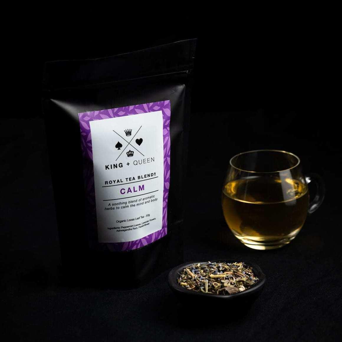 Calm - Organic Relaxing Herbal Tea Blend   Trada Marketplace