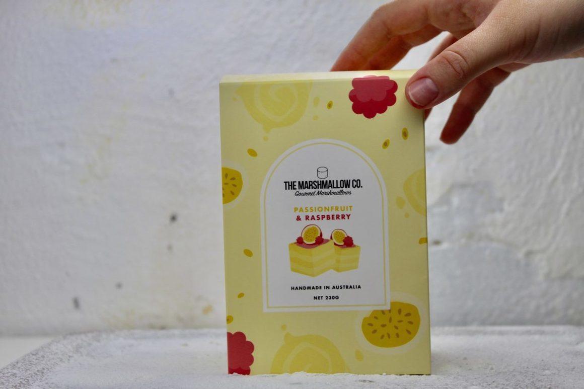 Passionfruit & Raspberry Marshmallows (Retail Box) | Trada Marketplace