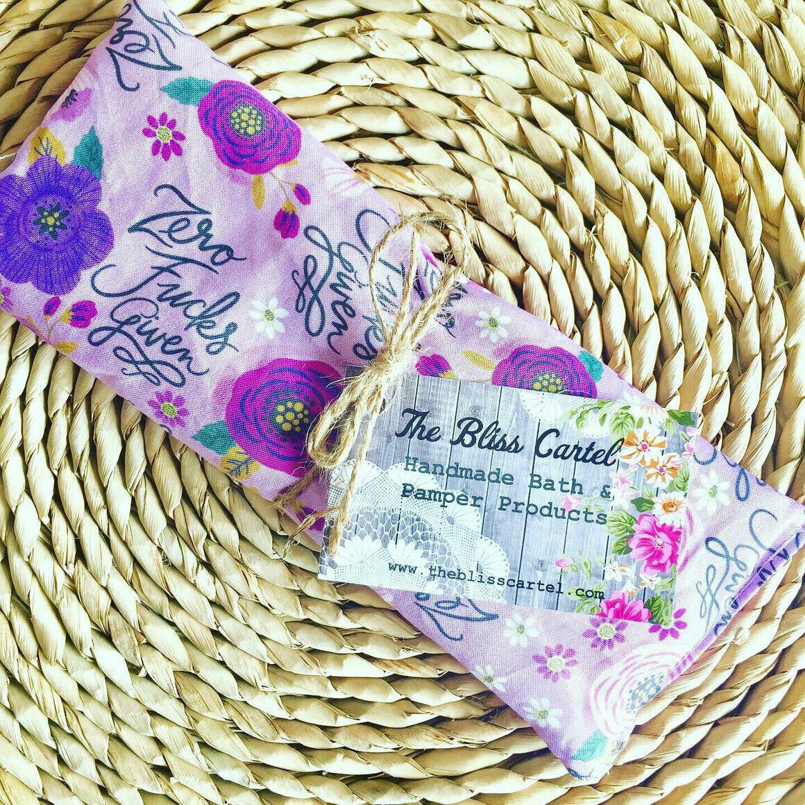 Zero Fucks Given Lavender Eye Pillow | Trada Marketplace