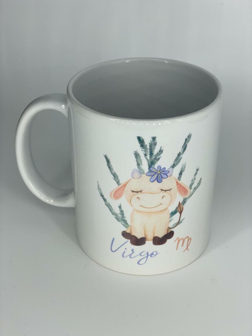 Star Sign  Baby Cow Coffee Mug   Trada Marketplace