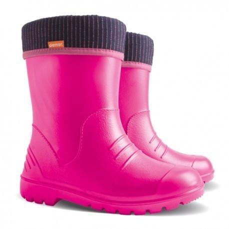 Kids Dino Gumboot - Pink | Trada Marketplace