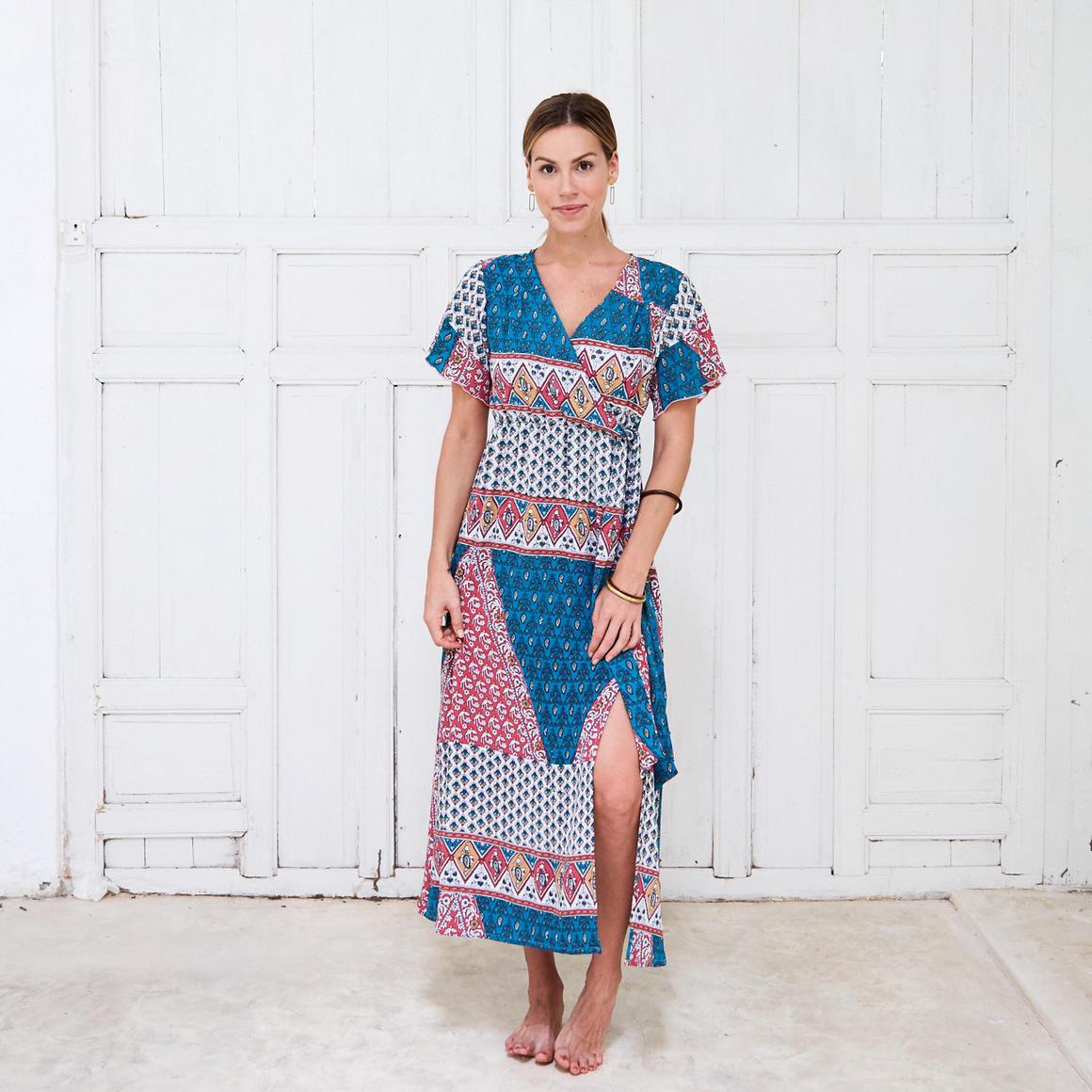 Turquoise cross over dress - 2 pack | Trada Marketplace