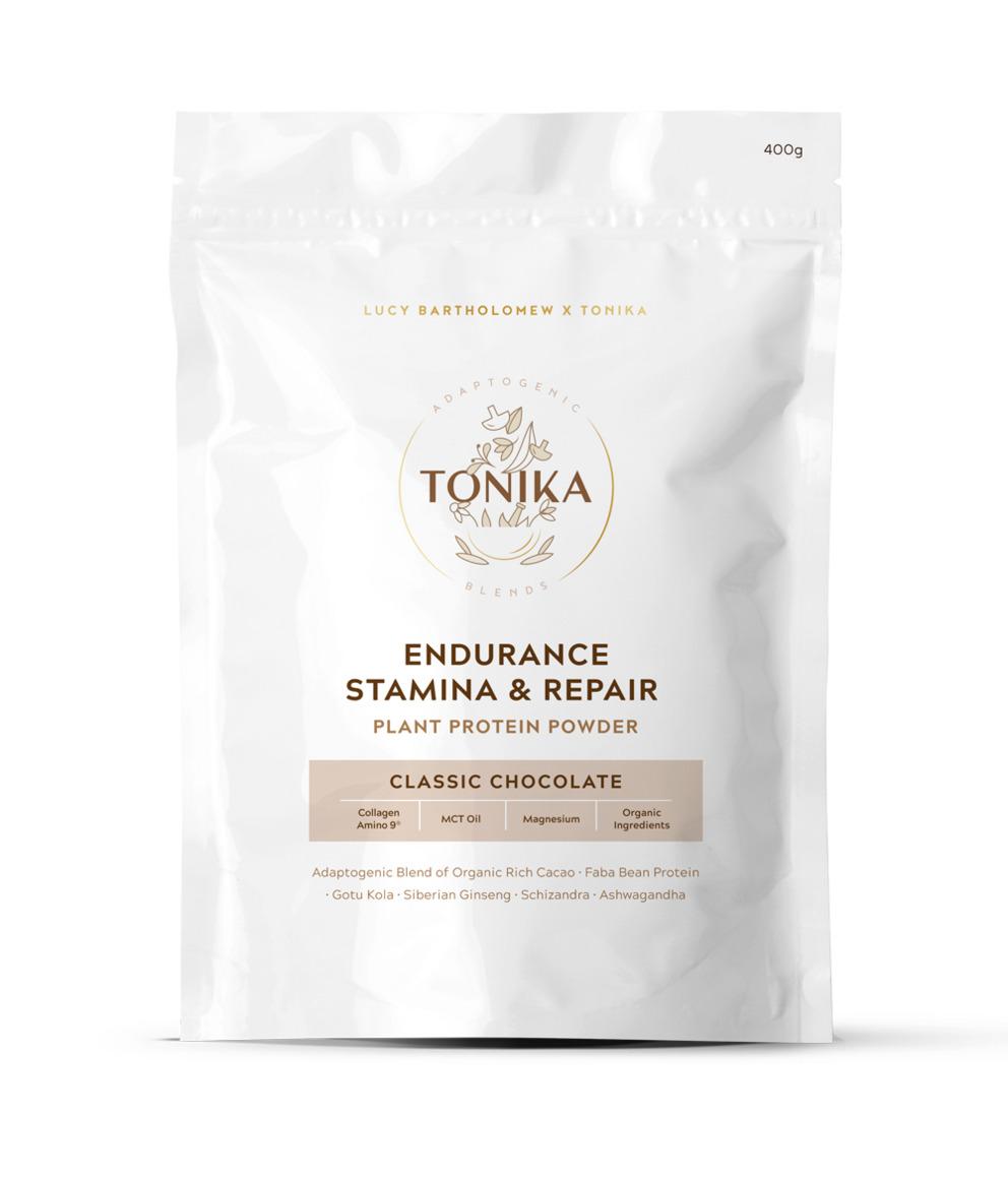 Tonika Classic Chocolate Protein - Endurance, Stamina and Repair.   Trada Marketplace