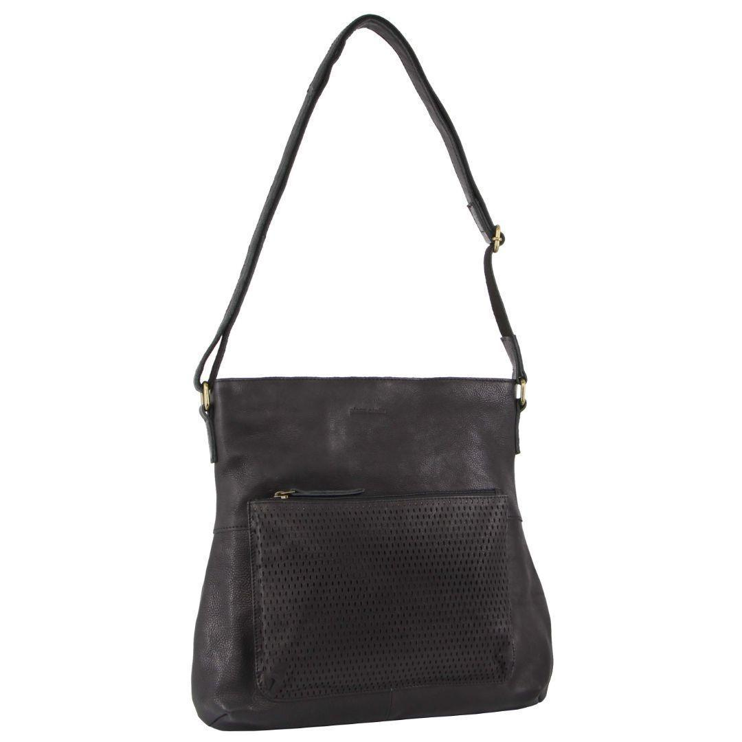 Pierre Cardin Perforated Leather Ladies Cross-Body Bag   Trada Marketplace