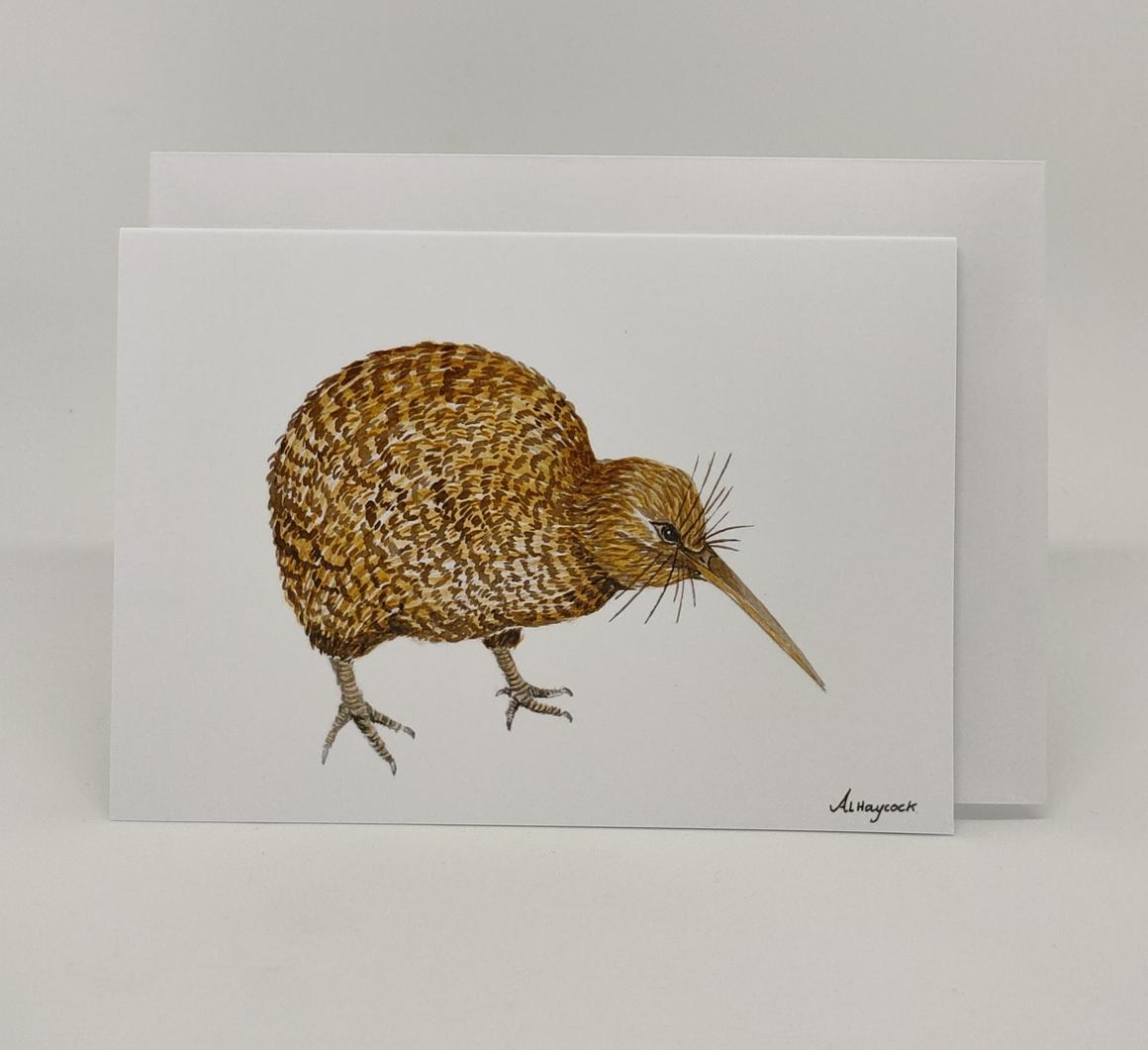 Kiwi Bird Card | Trada Marketplace