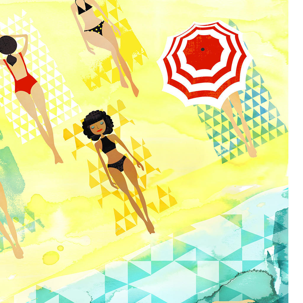 Aftrnoon Sun Art Print | Trada Marketplace